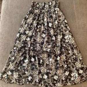 *NEW* Floral Maxi Skirt Dress - XS (NWT)